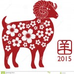 year-goat-silhouette-flower-pattern-chinese-new-ram-red-isolated-white-background-chinese-text-symbol-floral-42199495